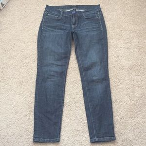 White House black market slim ankle jeans sz 4